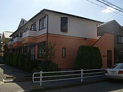 カーサ北町館[1階]の外観