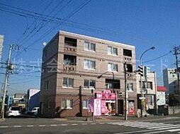 北海道札幌市中央区宮の森一条10丁目の賃貸マンションの外観