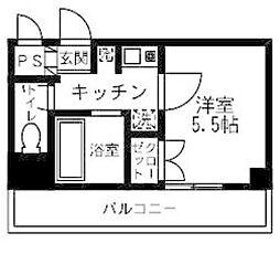 戸田公園ワンエムビル[405号室]の間取り