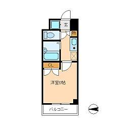 セントグレース[7階]の間取り