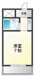 ラフォーレ甲子園[2階]の間取り