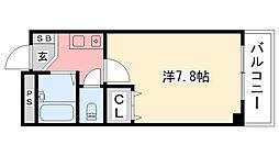 リッチライフ甲子園VIII[210号室]の間取り