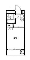 ハイタウン大倉山第1[403号室]の間取り