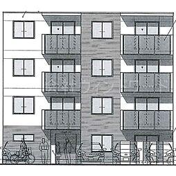 北海道札幌市西区発寒四条5丁目の賃貸マンションの外観