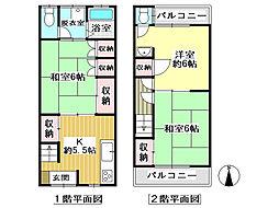 阪急宝塚本線 庄内駅 徒歩13分