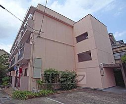京都府京都市右京区谷口円成寺町の賃貸マンションの外観