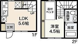 メゾネットShozoku[1階]の間取り