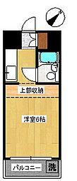 タフネレジデンス[3階]の間取り