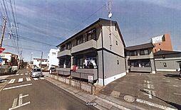 埼玉県上尾市中妻1丁目の賃貸アパートの外観