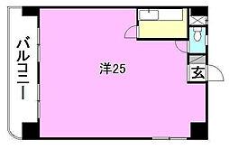 第五中村ビル[203 号室号室]の間取り