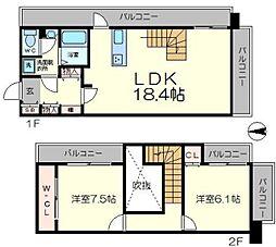 NLC新大阪パートII[8階]の間取り