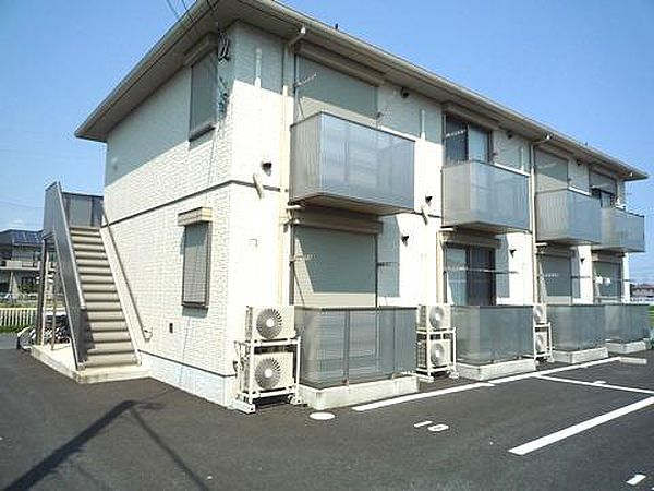 エーデル小松II−A 2階の賃貸【茨城県 / 土浦市】