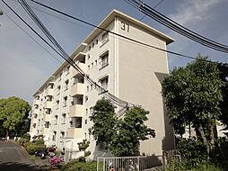 公団狭山住宅37棟[4階]の外観