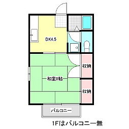LaPLACE神戸 B棟[2階]の間取り