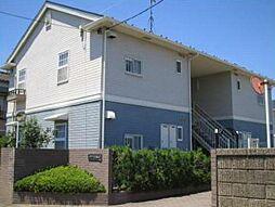 埼玉県川越市砂の賃貸アパートの外観