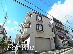 兵庫県神戸市灘区八幡町2丁目の賃貸マンションの外観