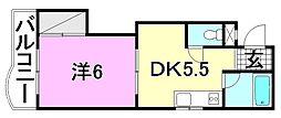 ハイツソレイユ[306 号室号室]の間取り