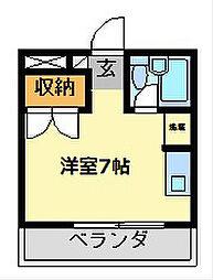 愛知県名古屋市昭和区池端町2丁目の賃貸マンションの間取り