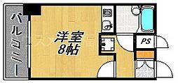 朝日プラザ大濠II[2階]の間取り