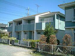 千葉県柏市新柏の賃貸アパートの外観