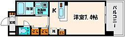 大阪府大阪市旭区清水3の賃貸マンションの間取り
