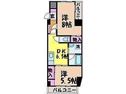 ライブタウン鉄砲町・[7階]の間取り