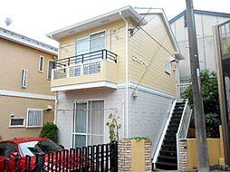 神奈川県横浜市鶴見区上の宮1丁目の賃貸アパートの外観