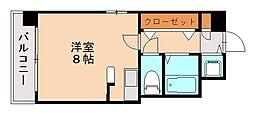エリアント赤坂[7階]の間取り