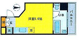 是空JYUSO[5階]の間取り