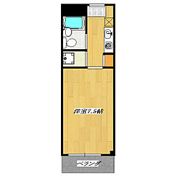Dyssin Residence[3階]の間取り