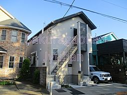 東京都世田谷区等々力7丁目の賃貸アパートの外観
