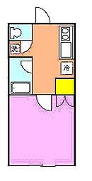 パインハウス[203号室]の間取り