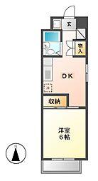 CASANOAH鶴舞公園Ⅱ[9階]の間取り