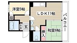 中京ビル[206号室]の間取り