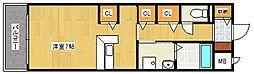 サニーキャンプI[2階]の間取り