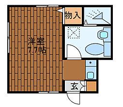 エスポワール成瀬[1階]の間取り