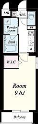 仮称:御園1丁目マンション[101号室]の間取り