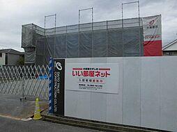 愛知県名古屋市北区中味鋺2丁目の賃貸アパートの外観
