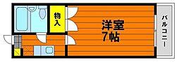 デュナミス笹ヶ瀬[4階]の間取り