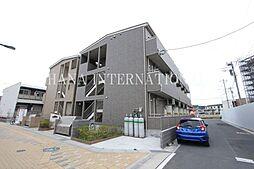埼玉県八潮市大瀬4の賃貸アパートの外観