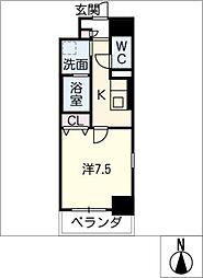 仮)泉3丁目PJ[6階]の間取り