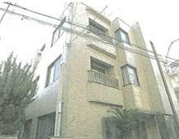 東京都大田区上池台2丁目の賃貸マンションの外観