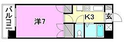 メゾン中村5[202 号室号室]の間取り