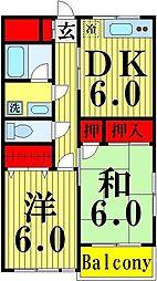 ハイムシライ[302号室]の間取り