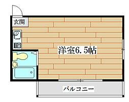 マプログレイス[2階]の間取り