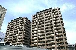 広島県福山市緑町の賃貸マンションの外観