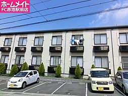 愛知県名古屋市緑区白土の賃貸アパートの外観