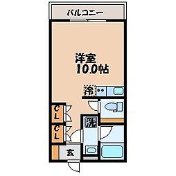 ピュア21[501号室]の間取り