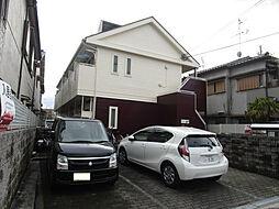 大阪府枚方市招提平野町の賃貸アパートの外観