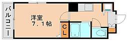 ビクトリーレジデンス2[4階]の間取り